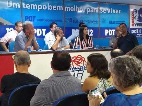 Paraíba Online • PDT aprova indicativo de apoio a Rodrigo Maia para presidência da Câmara