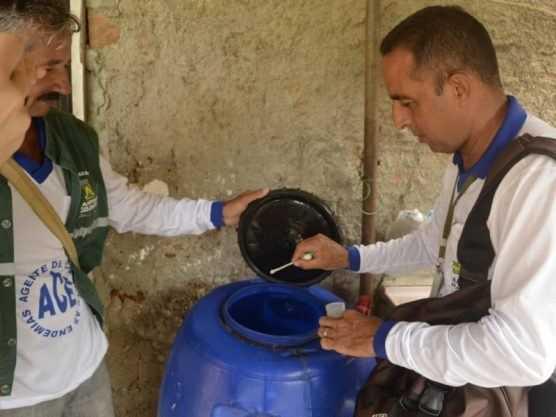 Paraíba Online • Saúde divulga primeiro levantamento de infestação do Aedes aegypti em CG