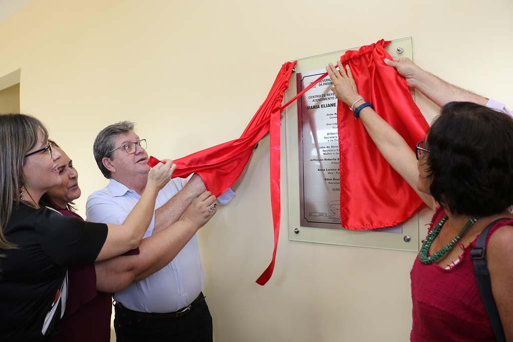 Paraíba Online • Governador inaugura Centro de Atendimento às Mulheres do Cariri em Sumé