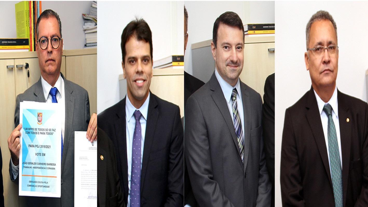 Resultado de imagem para quatro promotores se inscrever na lista tríplice da paraiba