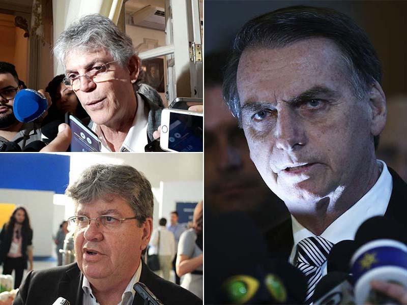 Paraíba Online • Coluna Aparte: Ricardo e João Azevêdo juntos em JP; Bolsonaro e a reeleição