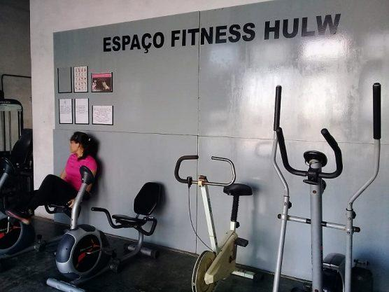 Paraíba Online • HU de João Pessoa tem espaço que atende pacientes em reabilitação e funcionários