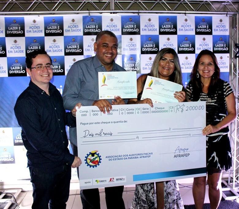 Paraíba Online • Duas escolas integrais da Paraíba recebem 'Prêmio Afrafep de Educação Fiscal 2019'