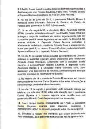 Paraíba Online • Governador e presidente da ALPB avisam que não aceitam Ricardo no comando do PSB