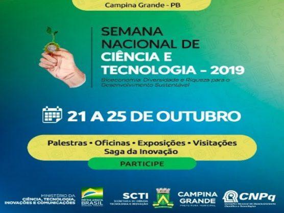 Paraíba Online • Campina Grande inicia Semana Nacional de Ciência e Tecnologia