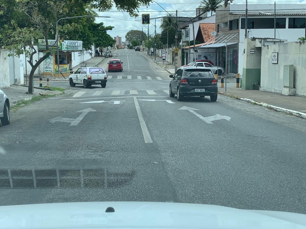 Paraíba Online • STTP alerta motoristas sobre ato criminoso de sinalização fake em Campina Grande