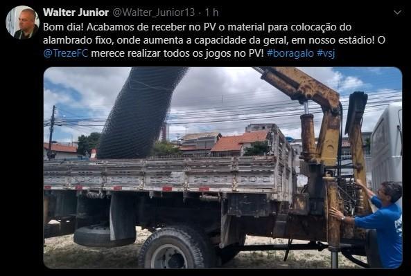 Paraíba Online • Volante negocia retorno ao Treze, e diretoria reitera desejo por clássicos no PV