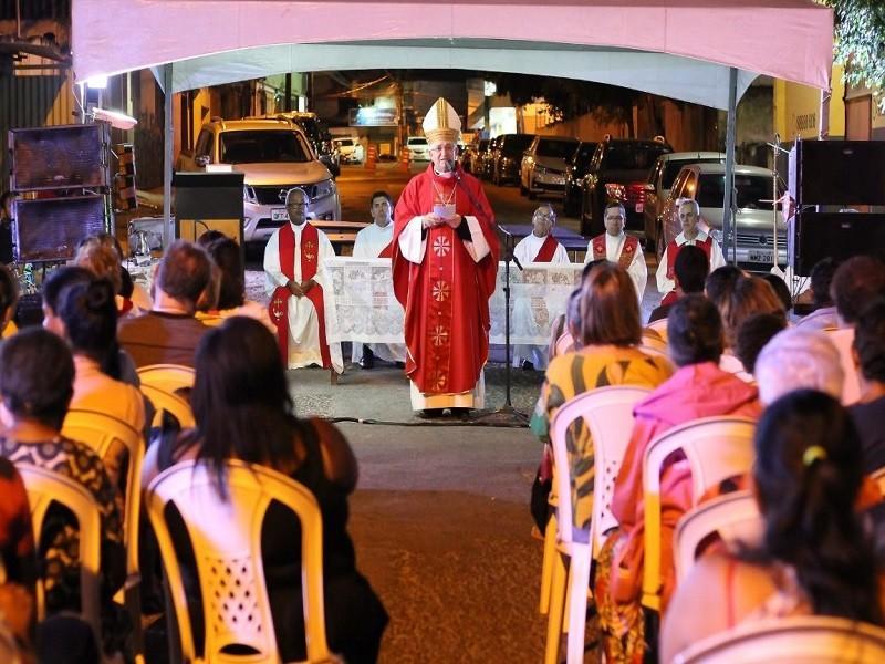 Diocese de Campina Grande celebra Santa Missa na Feira Central • Paraíba - Paraíba Online