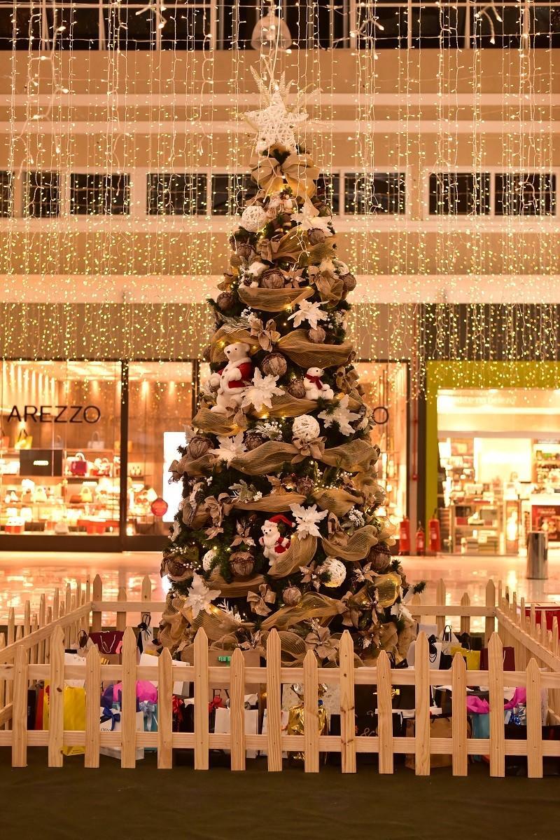 Paraíba Online • Com decoração iluminada, Shopping Luíza Motta realiza vasta programação natalina
