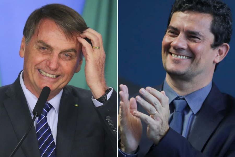 Paraíba Online • Bolsonaro ´bate pino´ e descarta esvaziar ministério de Moro