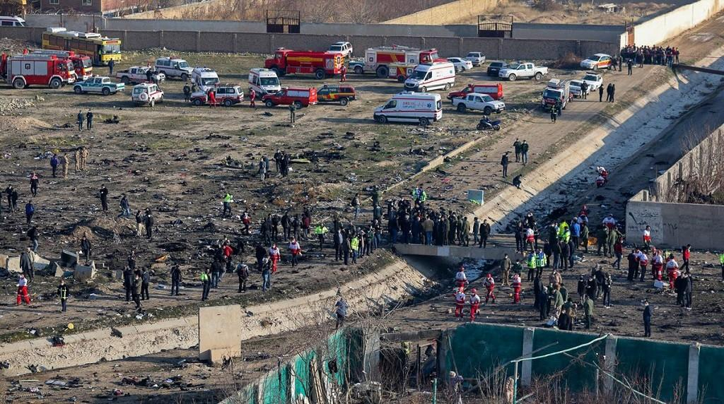 Paraíba Online • Dez países se oferecem para ajudar a apurar queda de avião no Irã