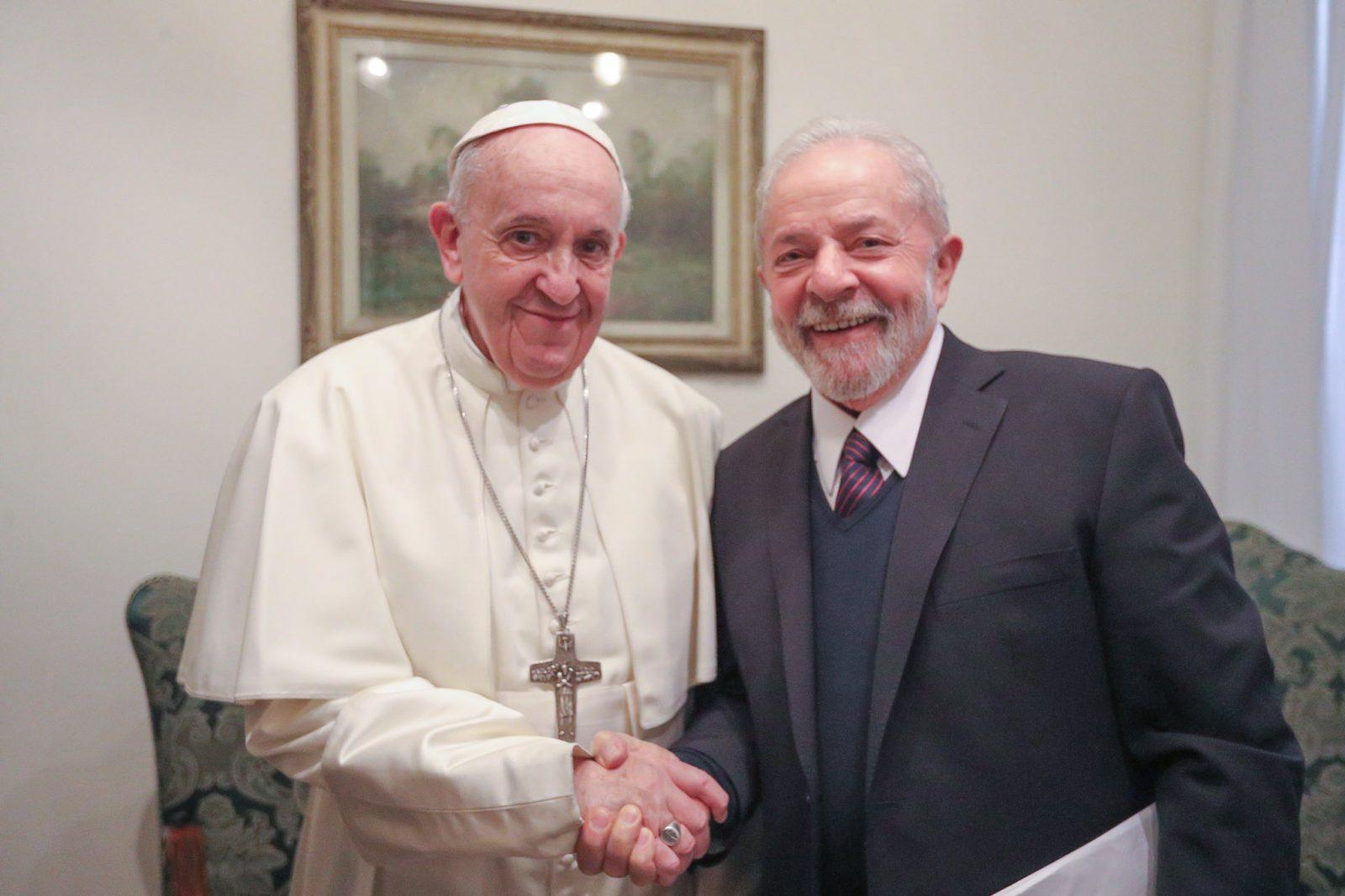 Paraíba Online • Ex-presidente Lula é recebido em audiência pelo papa Francisco
