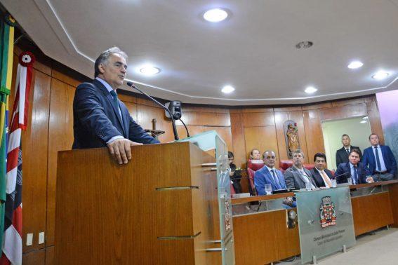 Paraíba Online • Prefeito participa de abertura dos trabalhos na CMJP e destaca pacote de obras