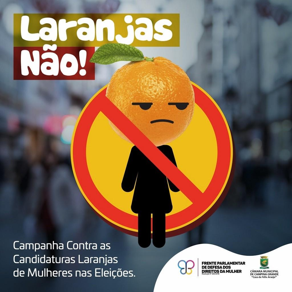 Paraíba Online • Câmara campinense lança campanha contra candidaturas laranjas de mulheres