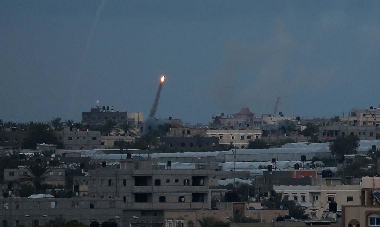 Paraíba Online • Palestinos lançam mais mísseis contra Israel, e Netanyahu ameaça guerra