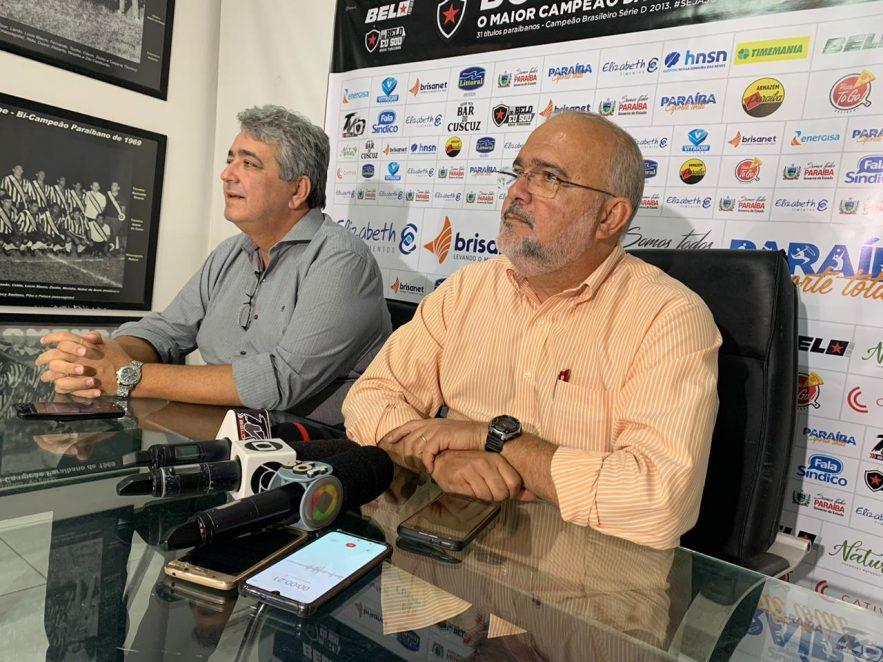 Paraíba Online • Diretoria do Botafogo-PB reduz salários e concede férias ao elenco