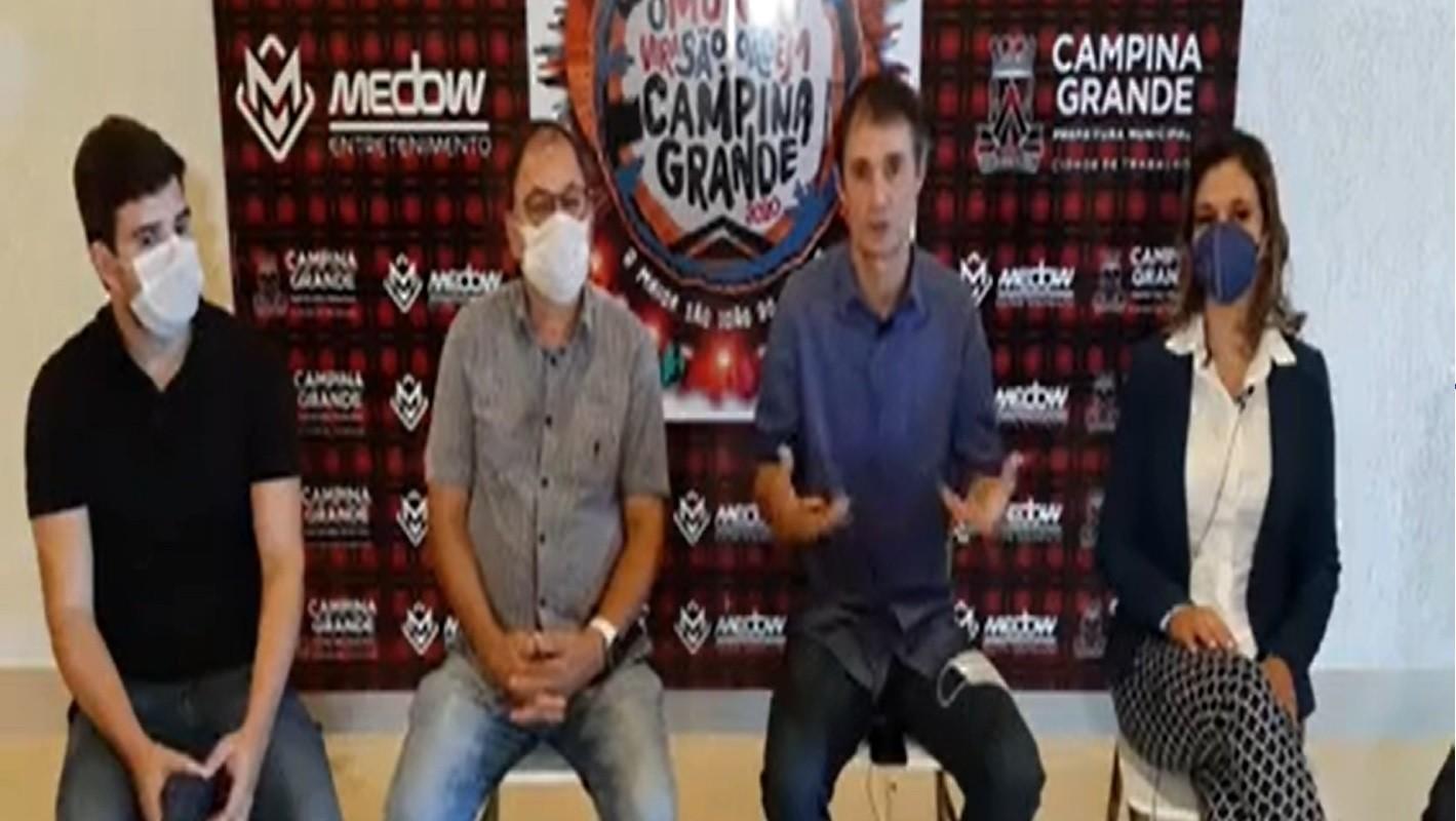 Paraíba Online • São João: prefeito anuncia adiamento da festa em Campina Grande