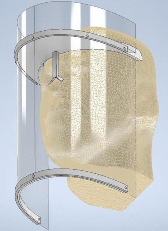 Paraíba Online • Protetor facial em impressão 3D será produzido para profissionais de saúde em CG