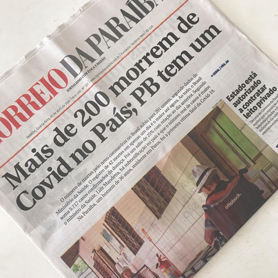Paraíba Online • Jornal Correio da Paraíba encerra atividades após mais de 60 anos de fundação