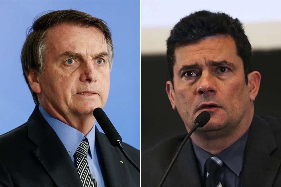 """Moro cometeu """"um crime federal"""", diz Bolsonaro ao comentar depoimento do ex-ministro"""