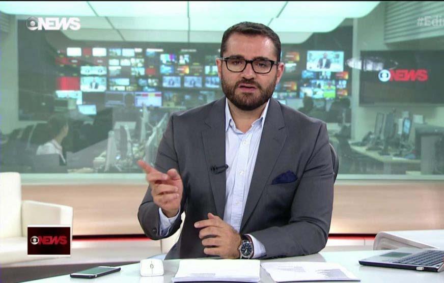 Paraíba Online • Jornalista da Rede Globo é xingado ao fazer corrida na praia