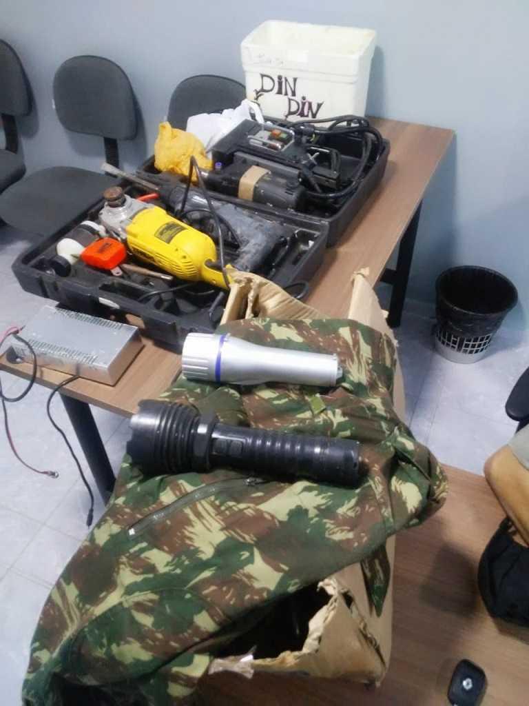Paraíba Online • Acusado de ataques a bancos é preso em Campina Grande
