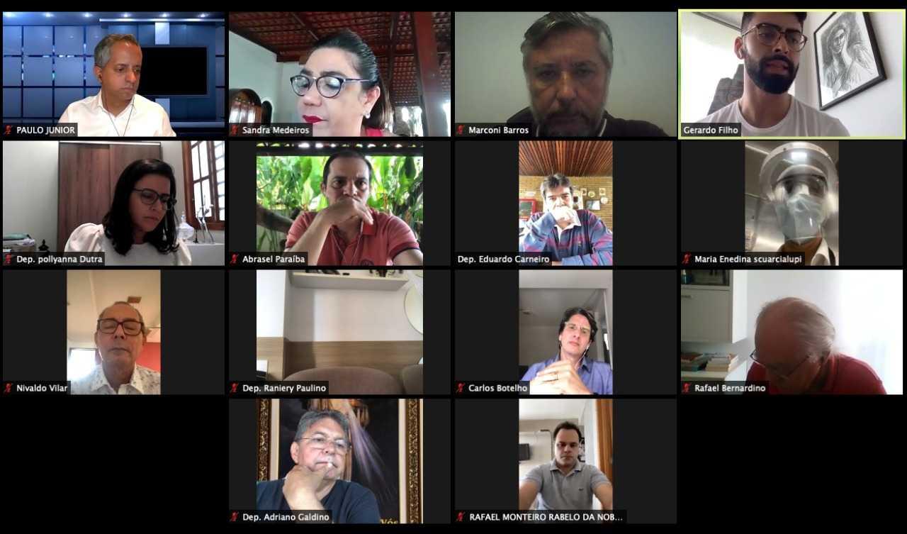 Paraíba Online • Assembleia cria comitê para debater retomada da economia na Paraíba