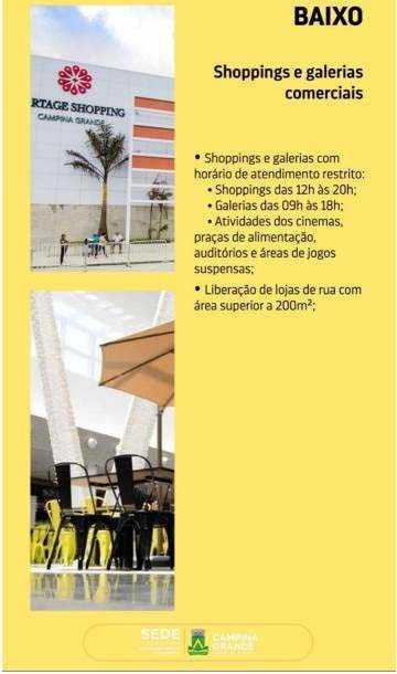 Paraíba Online • Coronavírus: Começa hoje a 2ª etapa do plano de retomada das atividades em Campina