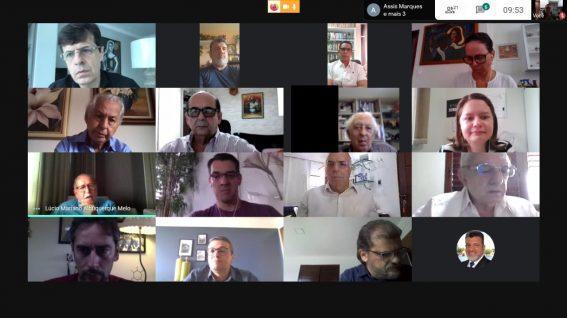 Paraíba Online • Mário Tourinho: A videoconferência da APCA