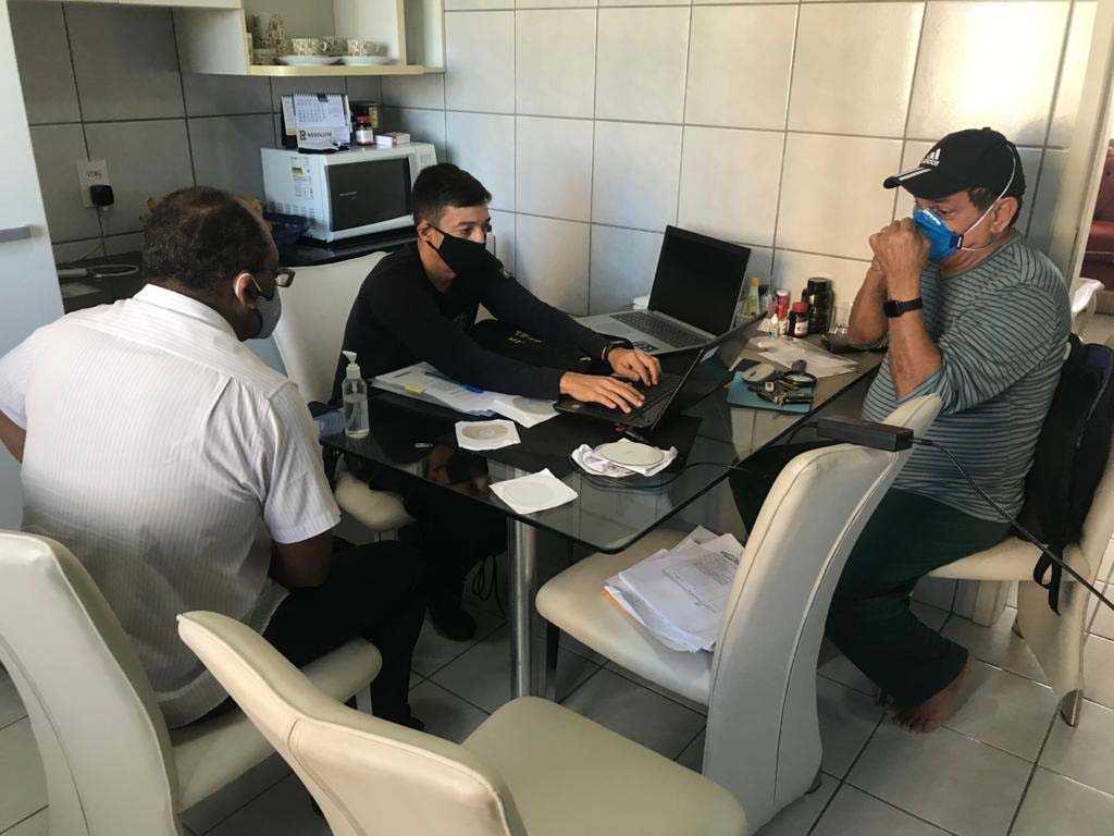 Paraíba Online • PF cumpre mandados de busca e apreensão em João Pessoa e Campina