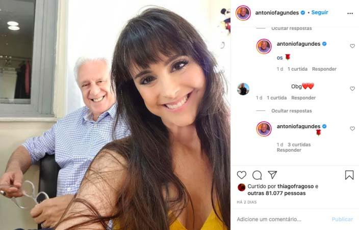 Foto: Reprodução/Instagram @antoniofagundes