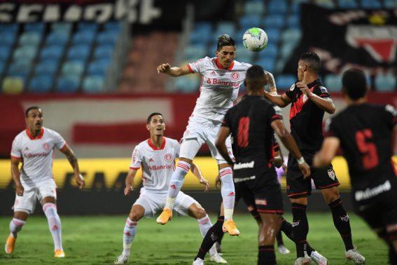 Paraíba Online • Copa do Brasil: Inter leva vantagem contra Atlético-GO no jogo da ida