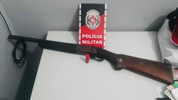 armas1-567x319 Em ação, PM prende suspeitos e retira armas de fogo das ruas da Paraíba