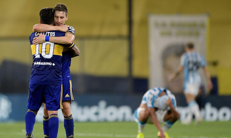 Paraíba Online • Copa Libertadores: Boca vence Racing e enfrenta Santos na semifinal