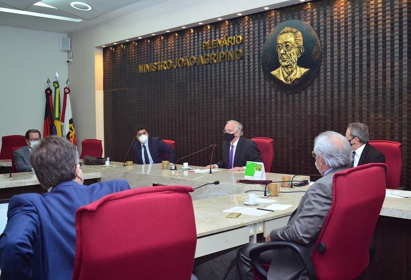 Eleito o presidente do TCE-PB para biênio 2021/2022 - Paraíba Online