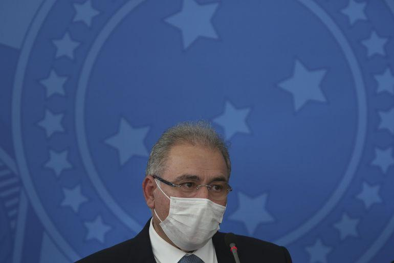 Paraíba Online • Novo ministro da Saúde pede 'pátria de máscaras'