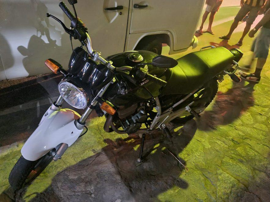 Paraíba Online • Polícia prende suspeito e recupera motocicleta roubada em Sertãozinho