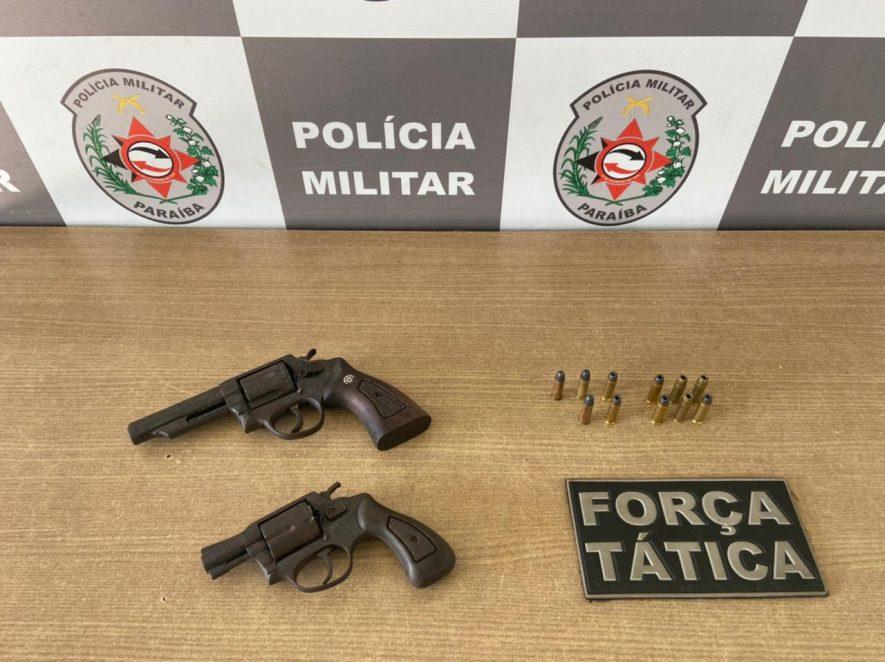 Paraíba Online • Polícia apreende armas em João Pessoa