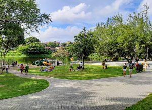 Paraíba Online • João Pessoa reabre Parque Arruda Câmara com medidas de segurança
