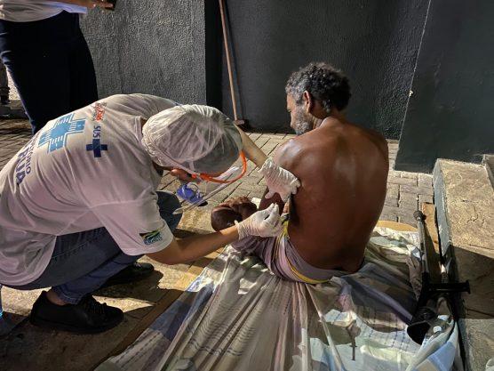 Prefeitura de João Pessoa leva cuidados em saúde para pessoas em condição  de rua • Paraíba Online